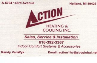 Action Heating & Cooling Inc.