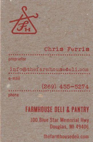 Farmhouse Deli & Pantry