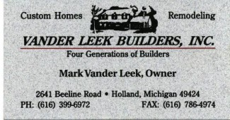 VanderLeek Builders, Inc.